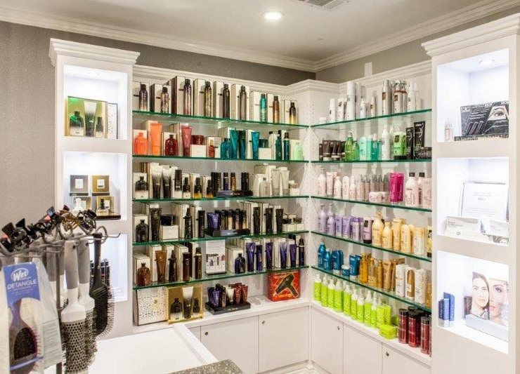 Hair Salon Body & Soul hair and skincare products