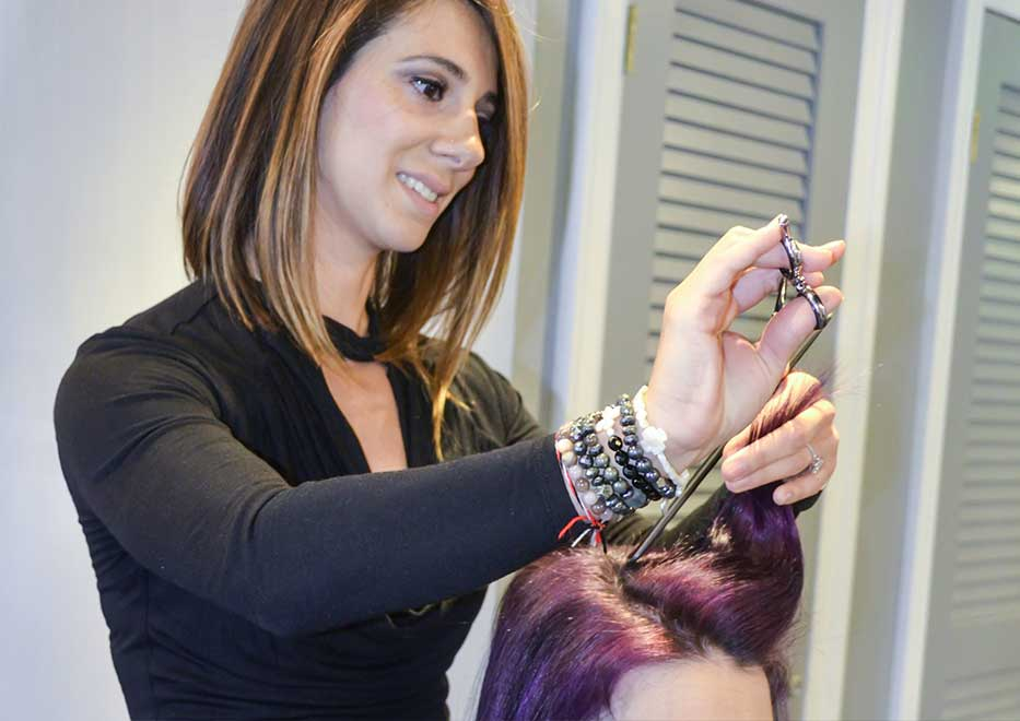 hair styling services