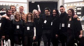 Raymond Welch of Hair Salon Body and Soul at New York Fashion Week 2018