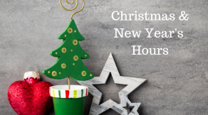 Holiday Hours 2018 | Hair Salon Body and Soul, New Providence, NJ