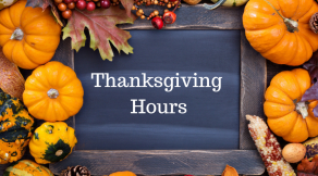 Hair Salon Body and Soul, New Providence | Thanksgiving Hours 2018